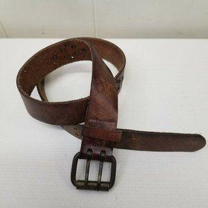 Hipwear Brown Leather Belt Canada Grommets